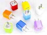 苹果3代绿点充电器 旅行充电器 5V 1000毫安 国外通用 1