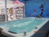 福州伊贝莎婴儿游泳池豪华亚克力一体池