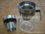 厂家生产耐腐蚀耐高温环保型塑胶加硅胶盖