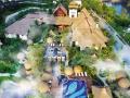 清远万科白天鹅温泉、美林湖西班牙小镇、屋顶摩天轮 纯玩二日游