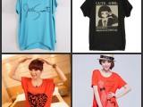 夏季韩版大码女装蝙蝠袖t恤 便宜库存夏装尾货处理 外贸地摊货源