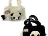 毛绒玩具厂家 熊猫包包 玩具批发 毛绒玩具礼品  熊猫双面手拎包
