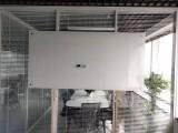 北京厂家定做超白玻璃白板安装磁性办公钢化烤漆白板