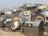 高價回收二手曉進漢普斬拌機滾揉機等食品加工設備