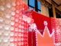 上虞宝宝生日百日宴气球布置周岁小孩双满月酒装饰