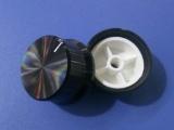 铝合金帽型旋钮 金属电位器旋钮34 18