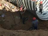波纹涵管厂家批发 云南5米钢波纹涵管施工 道路涵洞排水