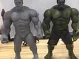 塑胶绿巨人 PVC注塑玩具公仔 精品摆件 复仇者联盟角色定制