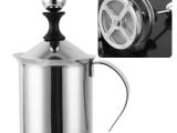 Cappuccino 卡布其诺 日式双层不锈钢打泡器 打奶器 打