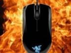 批发雷蛇Razer地狱狂蛇镜面版 有线鼠标 游戏CS CF专用 支持混批