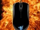 批发雷蛇Razer地狱狂蛇镜面版 有线鼠标 游戏CS CF专用