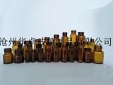 北京保健品玻璃瓶厂家专业生产棕色口服液瓶华卓制品