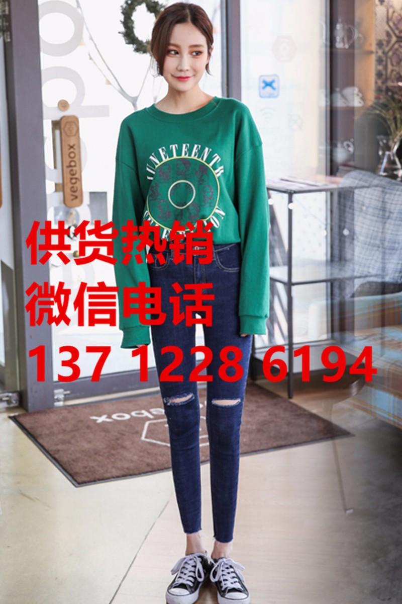 湛江哪里批发最便宜的牛仔裤库存女装牛仔裤批发10元服装