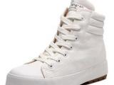 2013新款帆布鞋韩版潮休闲板鞋白色仿真