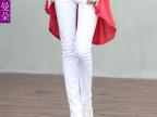 韩版白色牛仔裤女修身小脚裤弹力显瘦铅笔裤女休闲裤韩版潮长裤