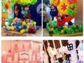 婚礼、生日、庆典气球装饰