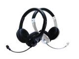 Lenovo/联想 有线头戴式耳麦 P728  黑色/白色