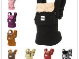 多功能双肩婴儿背带环保棉帆布宝宝背袋抱袋批发小孩背巾出行必备