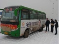 汾西县公交车身广告