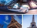 诠释摄影法国巴黎婚纱照,旅拍跟拍亲子照情侣照