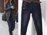 牛仔裤尾货清仓处理工厂在广东哪里有韩版牛仔裤批发
