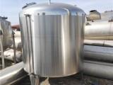 济宁浩运二手30立方不锈钢储存罐 45立方不锈钢储存罐