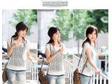 夏季韩版优雅修身薄短袖镂空钩花蝙蝠衫套头针织衫罩衫毛衣女外搭