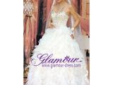 时尚新款欧美公主裙成人收腰显瘦及地长款镶钻蕾丝花无袖婚纱礼服
