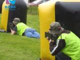 户外运动娱乐 充气射击掩体障碍趣味场地真人竞技