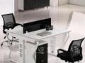 杭州办公桌 4人位办公桌 职员办公桌椅 屏风 简约