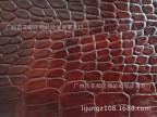 促销 人造皮革批发厂价直销 优质仿皮皮革沙发革现货供应 鳄鱼纹