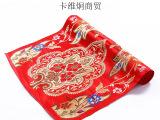 昌瓦金热卖印度瓦拉拉斯好甲扎厚型真丝手工绣花丝绸民族风布料