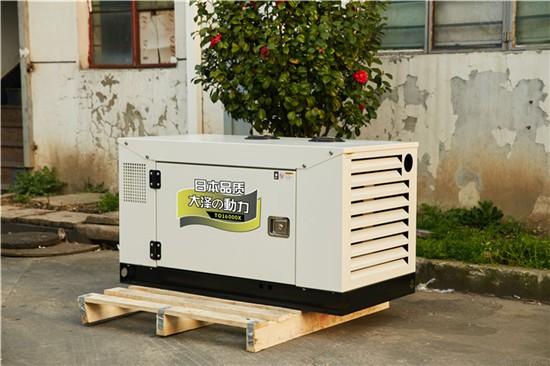 15kw柴油发电机 TO18000ETX永磁机