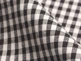 【厂家专业优质直销供应】  高档格子色织麻布