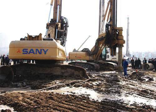 崇左三一旋挖钻机联系电话旋挖出租公司低价格承接旋挖桩基础工程