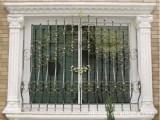 供应郫县铁艺飘窗 防护窗 不褪色不上锈