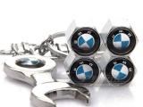 BMW 汽车金属板手气门嘴盖 宝马改装款