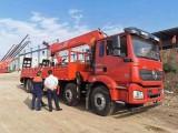 陕汽德龙配三一14吨吊机分期包上户