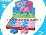 派对塑料儿童小玩具 上链发条情侣蓝粉色拖鞋(12只装) BB