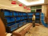 广州水生财水族大型海鲜池定做,广州酒家海鲜鱼缸定做