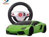 仁达116 兰博基尼艾文塔多方向盘遥控车重力感应遥控玩具赛车