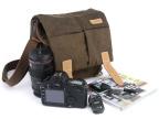 CADEN卡登焰火系列 N2单反相机包 摄影包 帆布防水相机包带防雨罩