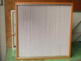 木框过滤器高效过滤器空气过滤器有隔板过滤器