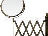 批发化妆镜台式镜双面镜放大镜伸缩镜挂式镜金属美容镜