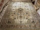 手工真丝波斯地毯水洗古典波斯地毯客厅专用地毯广州批发地毯