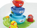 Yookidoo正品 宝宝最爱 洗澡戏水玩具 魔法章鱼浮船喷