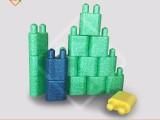 重庆大积木玩具批发儿童积木EPP火箭头积木艾可EPP玩具