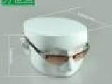 万世宫 树脂头模 眼镜 太阳镜 耳机展示架 玻璃钢 假人头支架