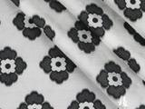 现货厂家直销春秋欧根纱提花女装裙装连衣裙服装面料布料8色