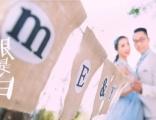 亚太盛典国际婚纱订婚纱送父母结婚纪念照